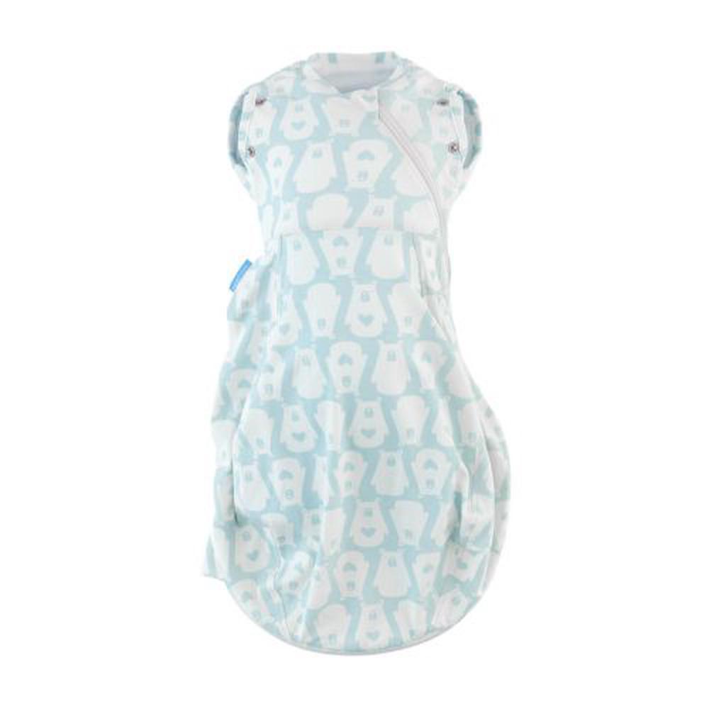 The Gro Company Swaddle Grobag, Light (Bennie The Bear) - Newborn Plus
