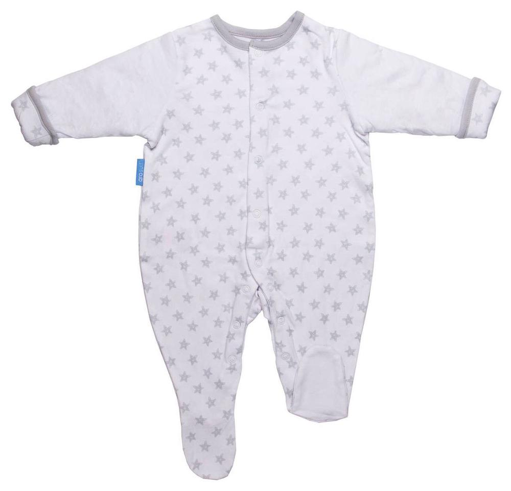 The Gro Company Gro Suits (Silver Star) - 6-9 Months