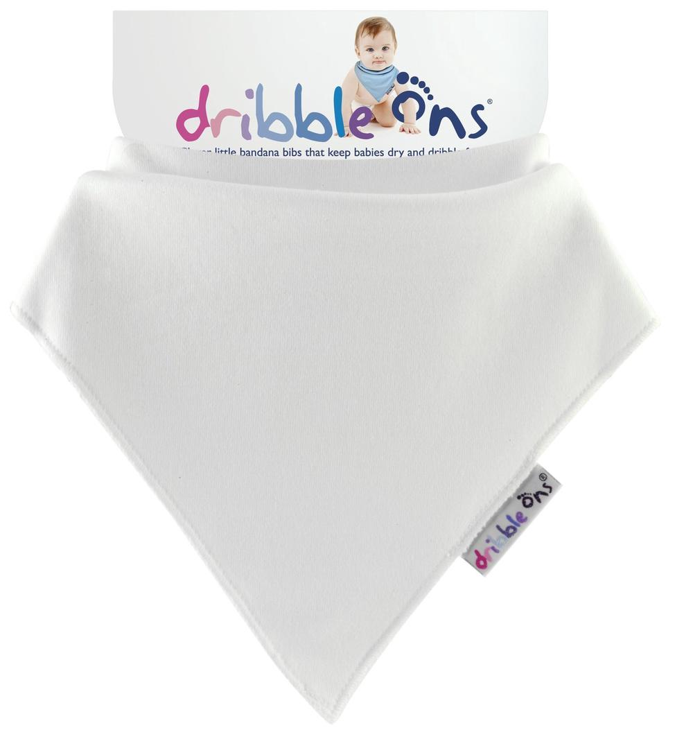 Sock Ons Dribble Ons Bib (White)