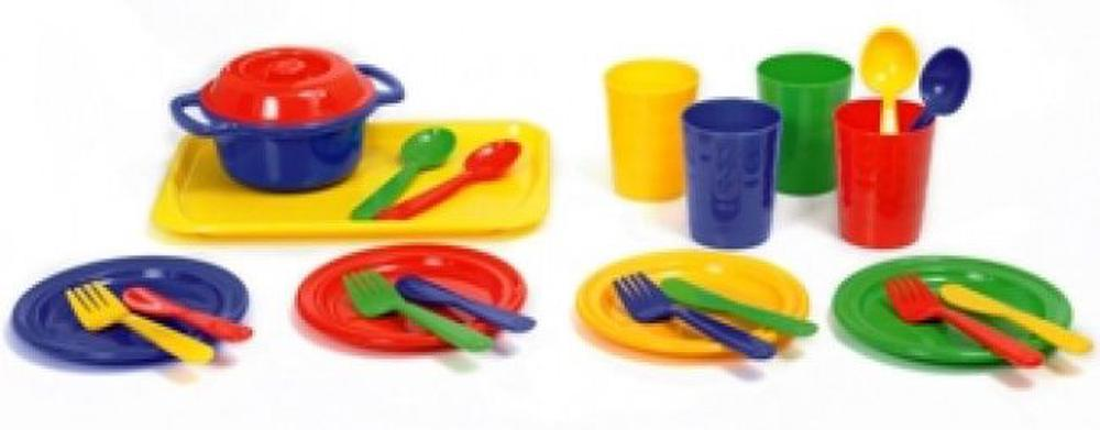Plasto Toy Dinner Set For 4
