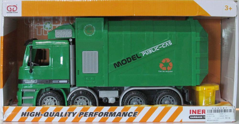 All Brands Friction Garbage Truck