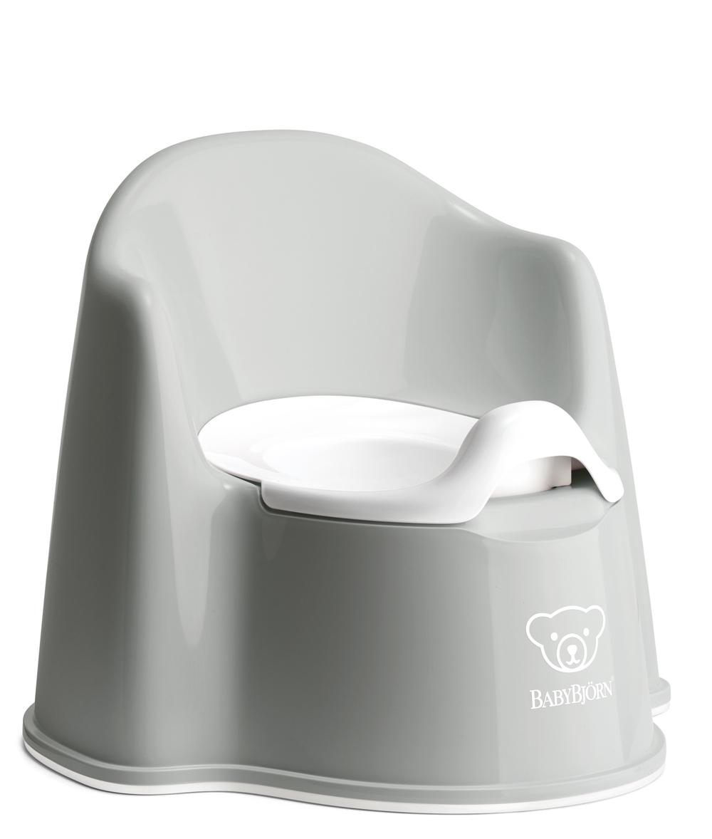 BabyBjorn Potty Chair for Toilet Training (Grey)