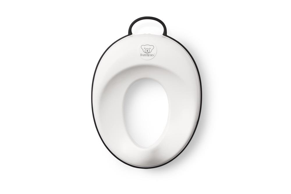 7ecf0aa5bbe BabyBjorn Toilet Training Seat - Easy to Clean   Store (White Black ...
