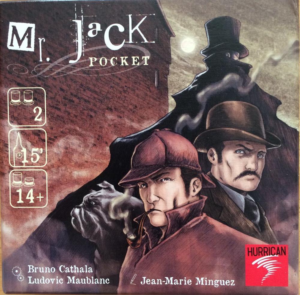 Asmodee Mr Jack - Pocket