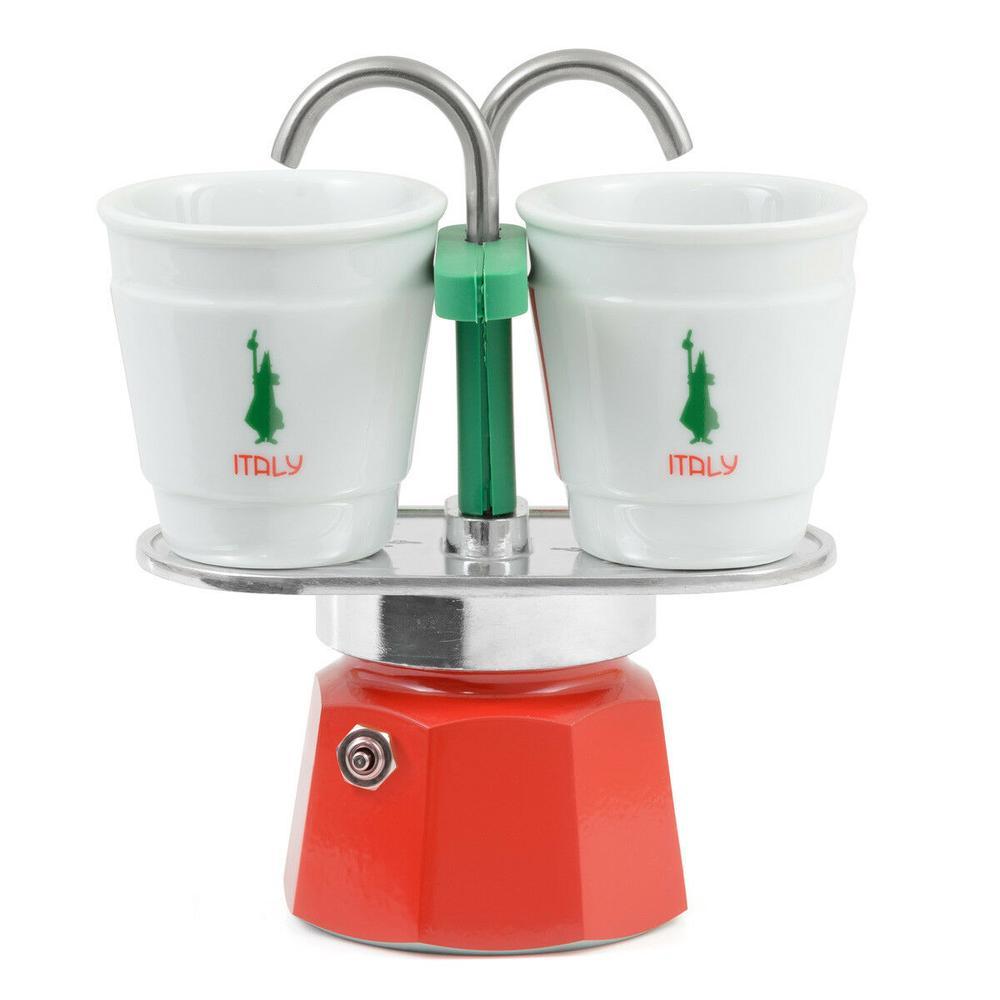Bialetti Mini Express Espresso Maker (Italy) - 2 Cups
