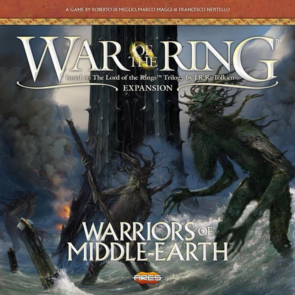 Ares Games War of the Ring 2nd Edition Warriors of Middle Earth