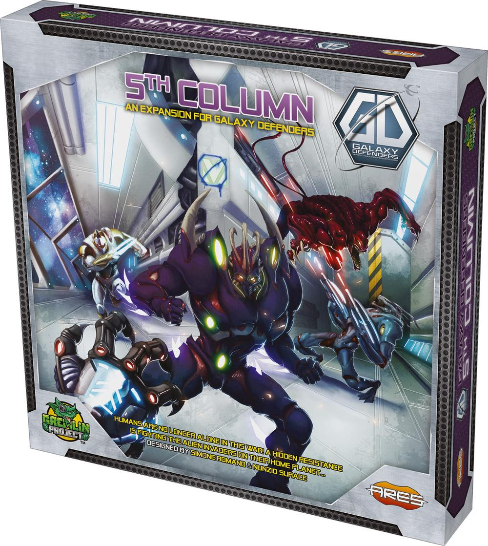 Ares Games Galaxy Defenders Fifth Column