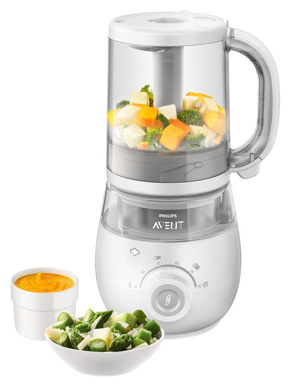 Philips Avent 4-in-1 Healthy Baby Food Maker Steamer Blender