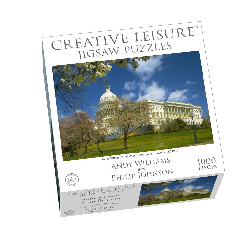 Crown & Andrews Creative Leisure Jigsaw Puzzles - The Capitol