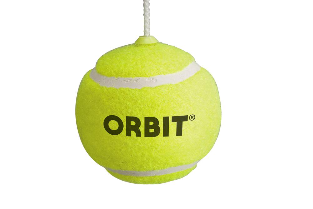 Orbit Replacement Tennis Ball and Tether