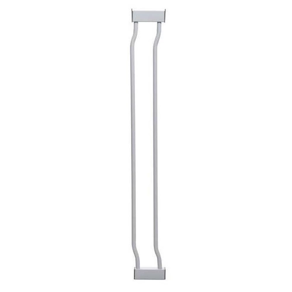 Dreambaby Liberty Gate Extension Standard Height (White) - 9 x 76cm