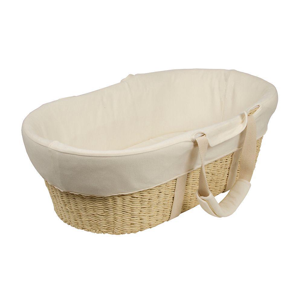 Bebe Care Moses Basket & Dressings (Cream)