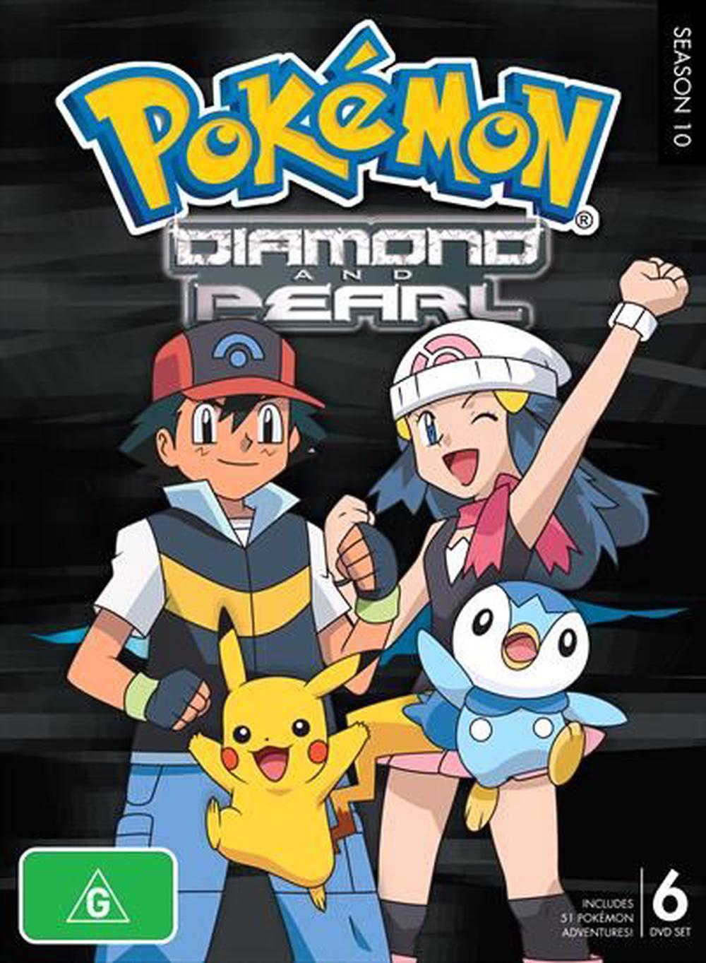 Pokemon: Diamond And Pearl - Season 10