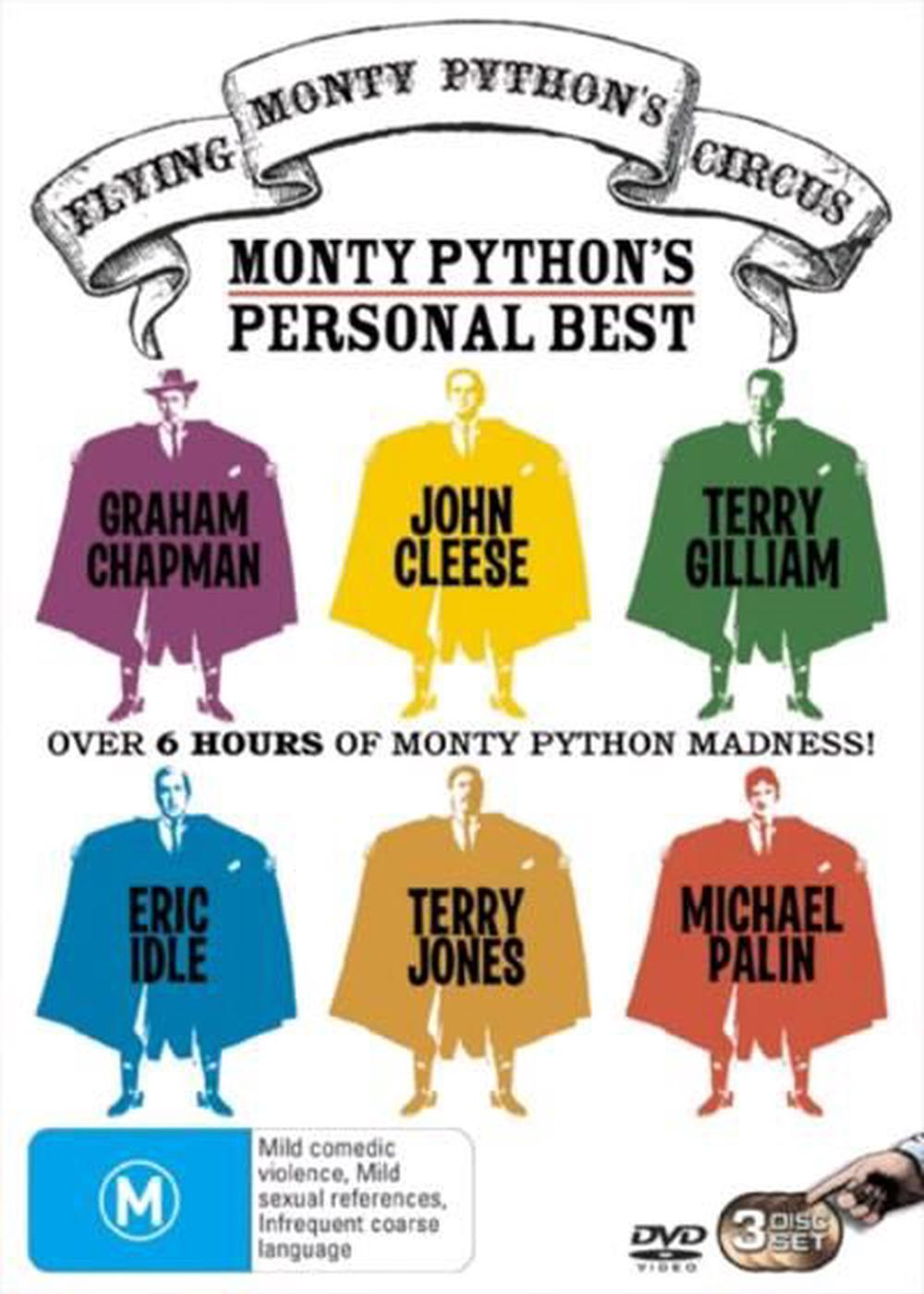 Monty Python S Flying Circus The Personal Best Collection Dvd Buy Online At The Nile