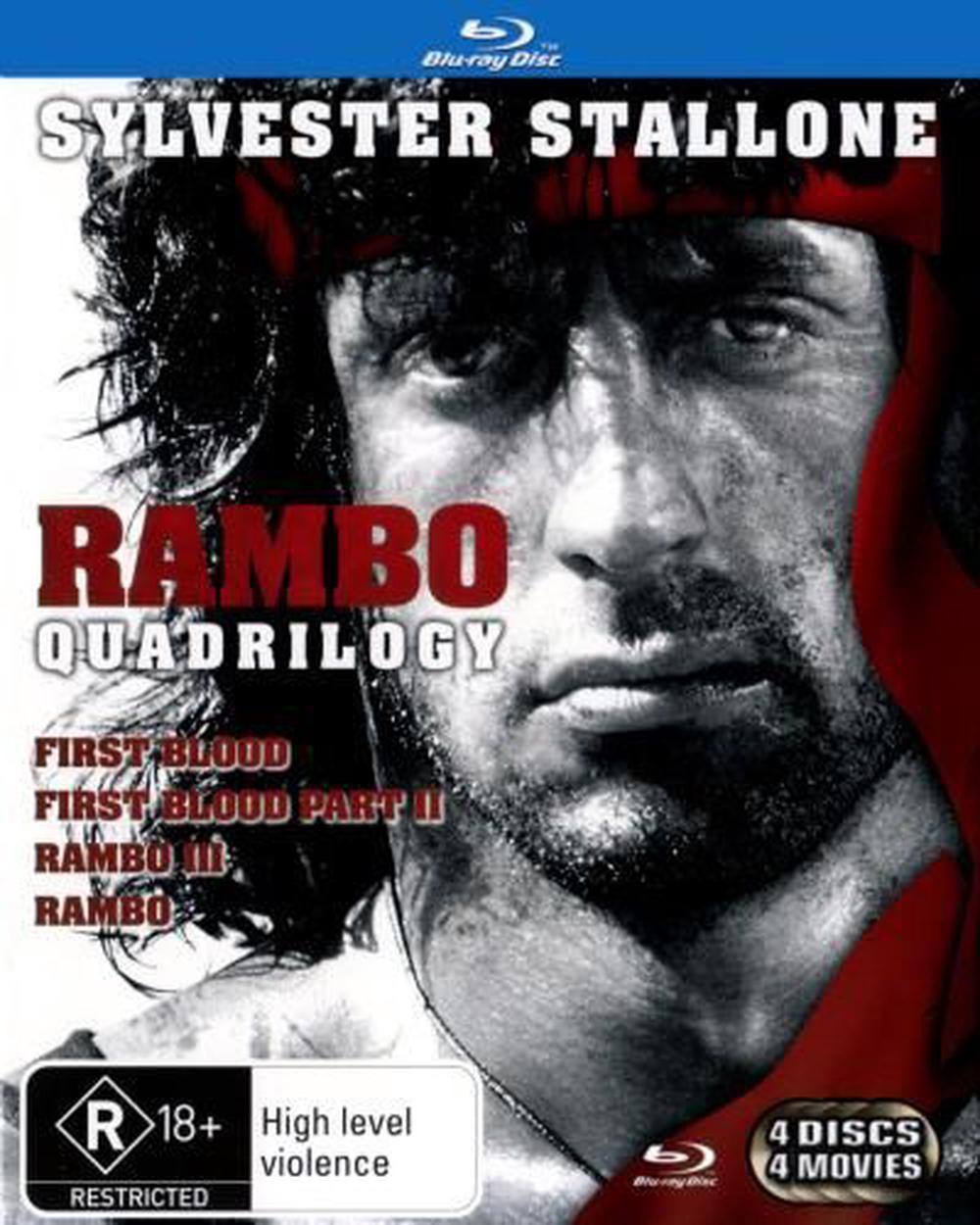 Rambo Quadrilogy (First Blood / First Blood [Blu-ray]