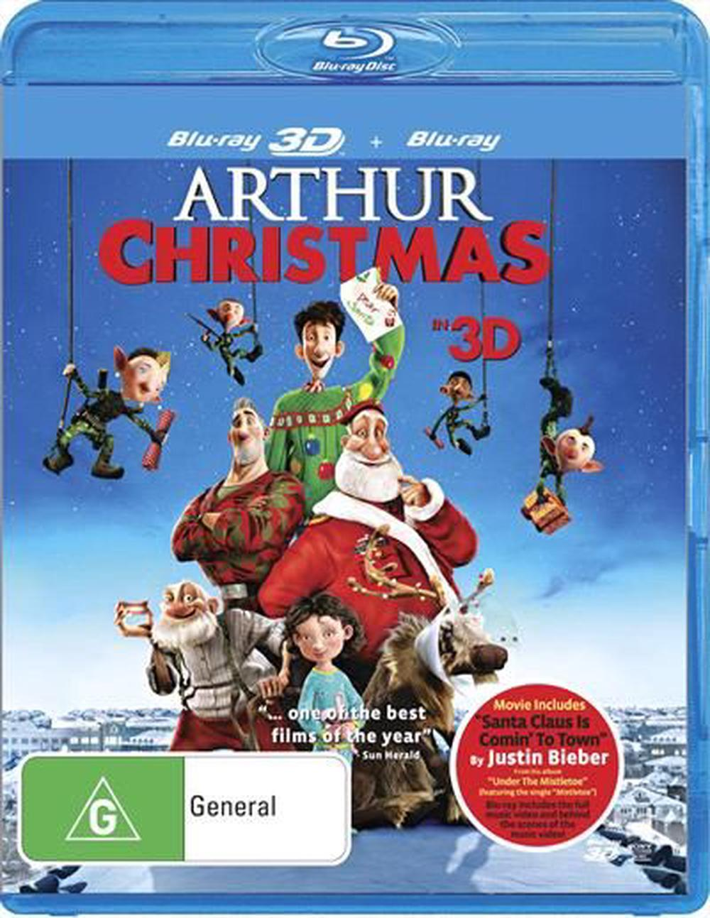 arthur christmas 3d 2d blu ray - Arthur Christmas Full Movie Online