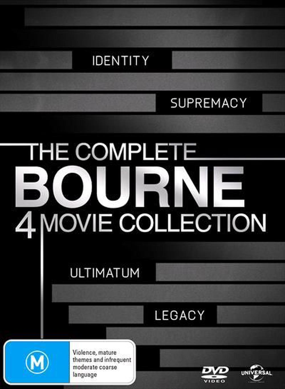 The Complete Bourne | 4 Movie Set
