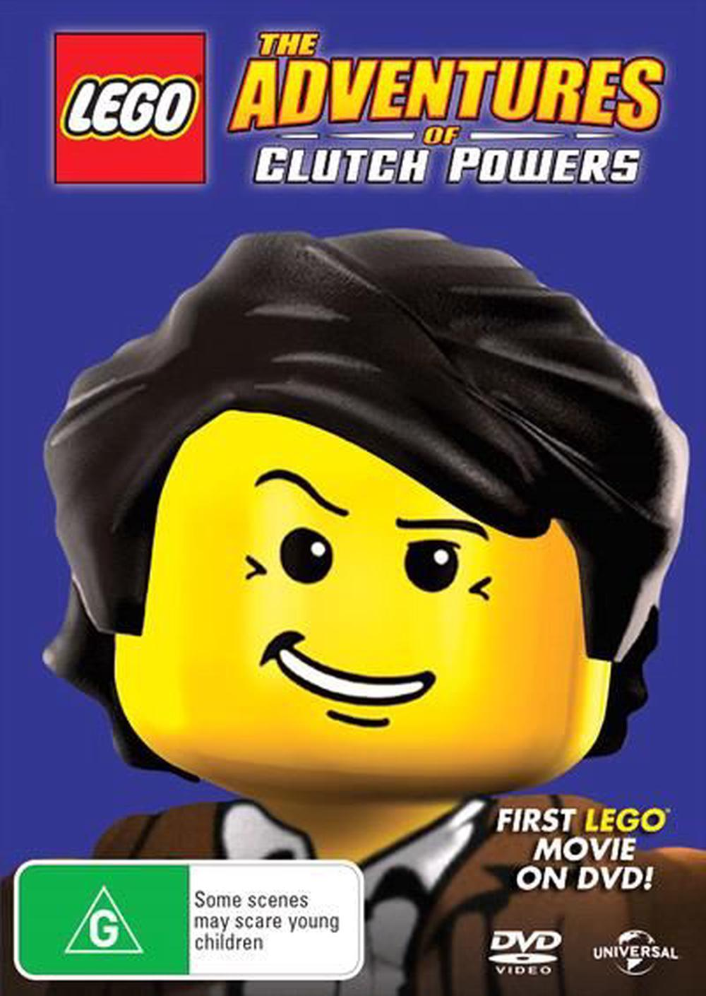 LEGO - The Adventures Of Clutch Powers | Big Face, DVD | Buy