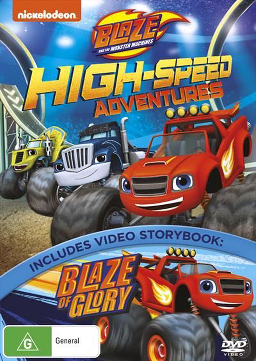 Blaze And The Monster Machines - High-Speed Adventures