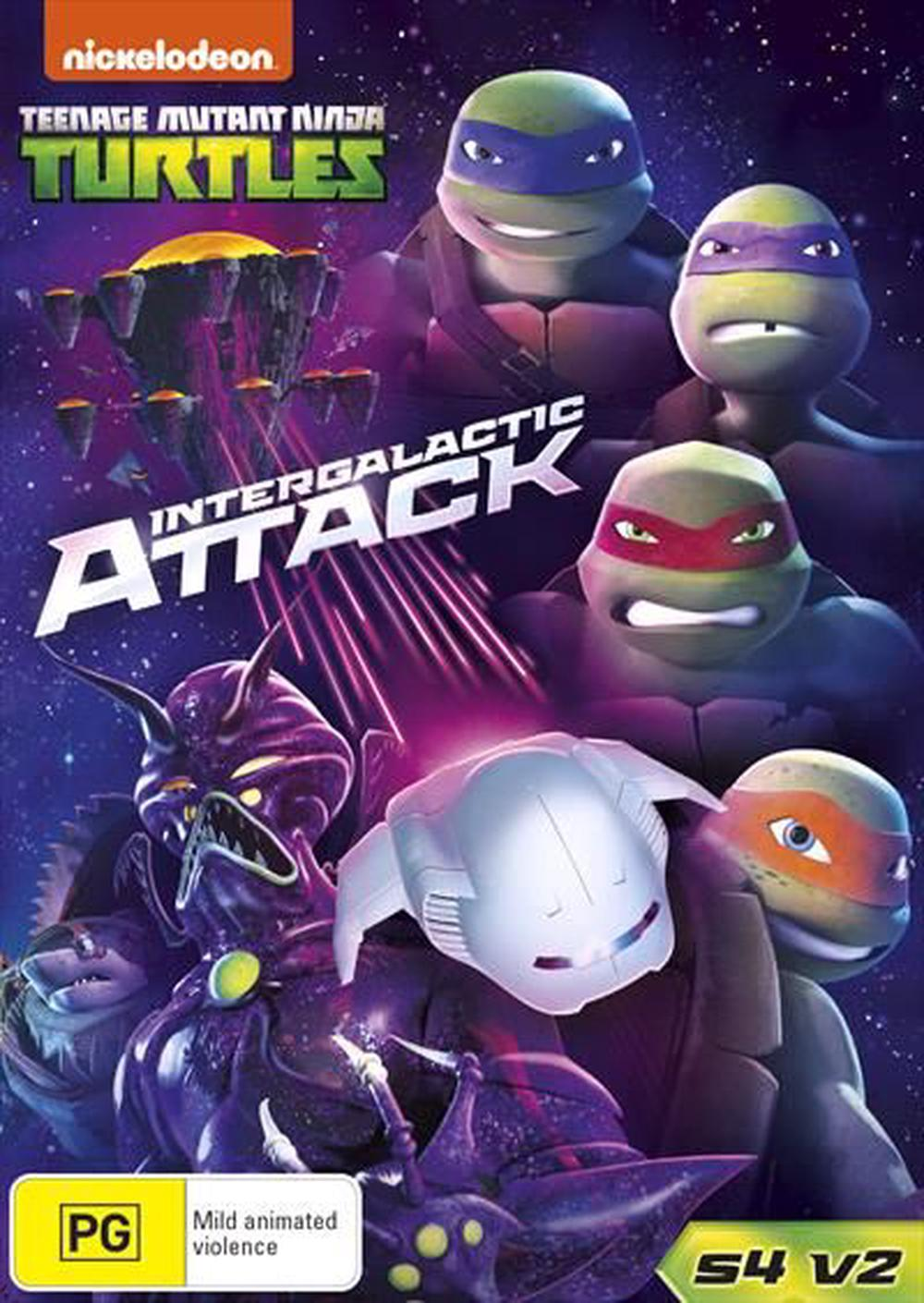 Teenage Mutant Ninja Turtles - Intergalactic Attack