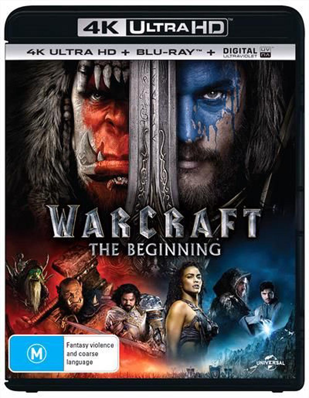 Warcraft - Beginning, The | Blu-Ray + UHD + UV