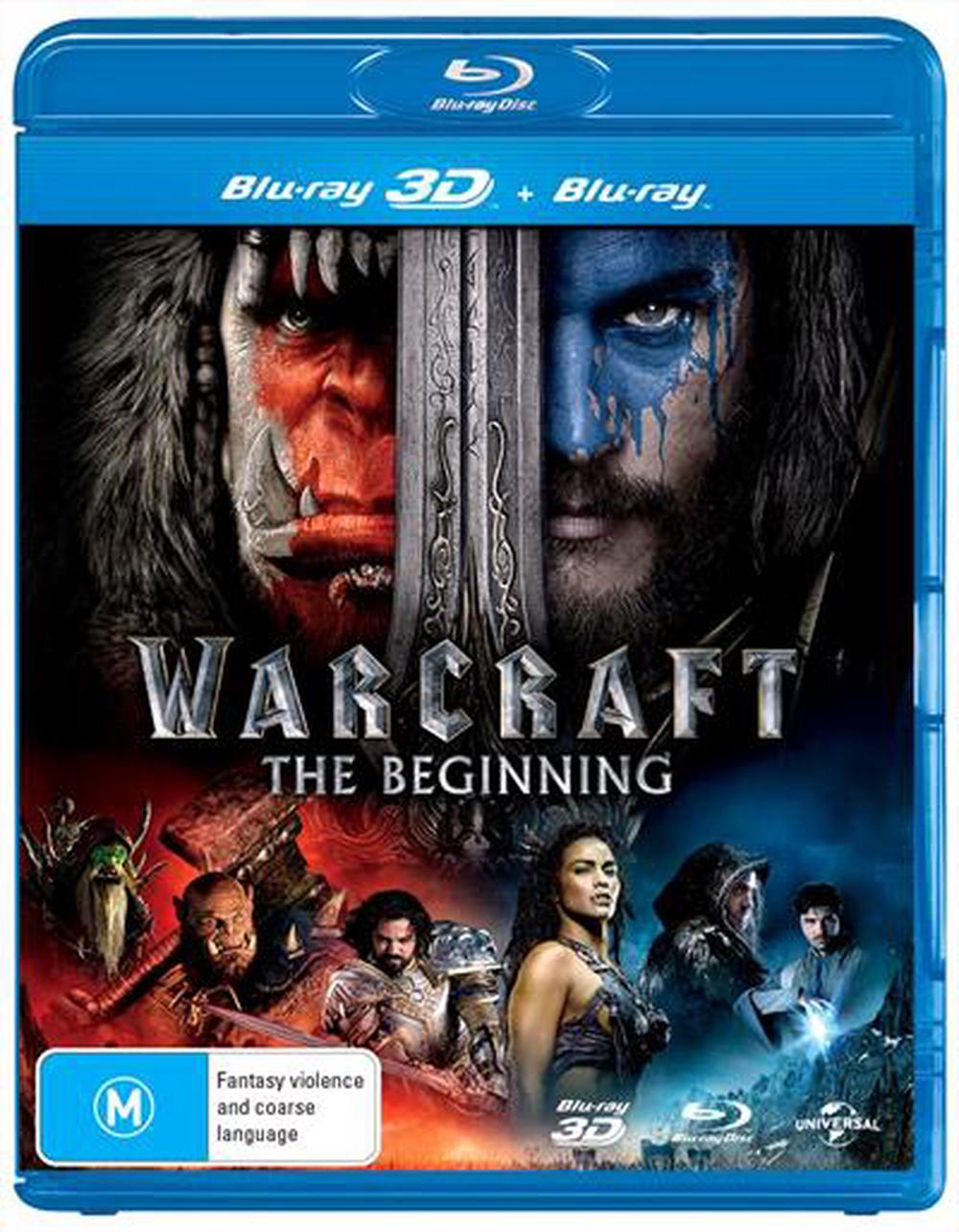 Warcraft - Beginning, The | 3D + 2D Blu-Ray + UV