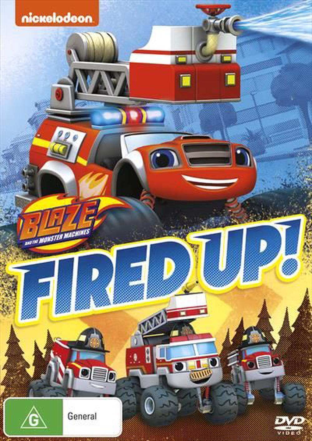 Blaze And The Monster Machines - Fired Up!