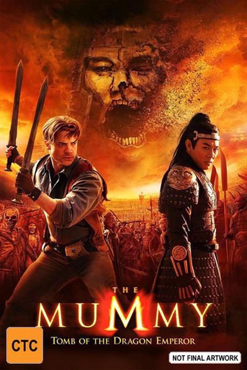 Mummy, The - Tomb Of The Dragon Emperor | Blu-Ray + UHD + UV