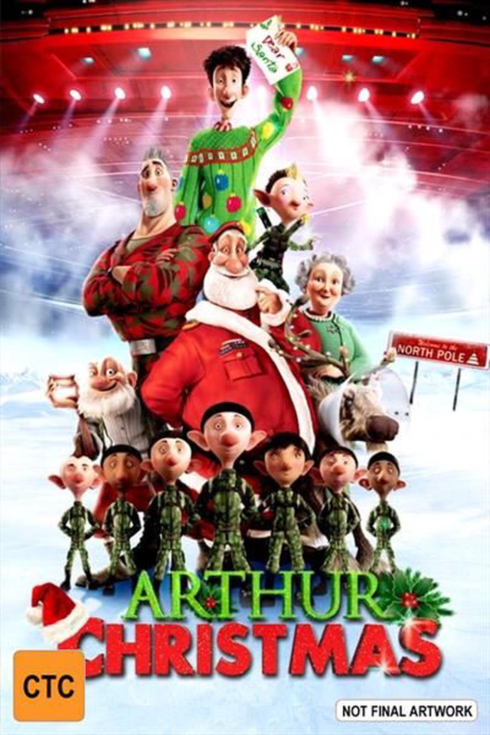 Arthur Christmas, DVD | Buy online at The Nile