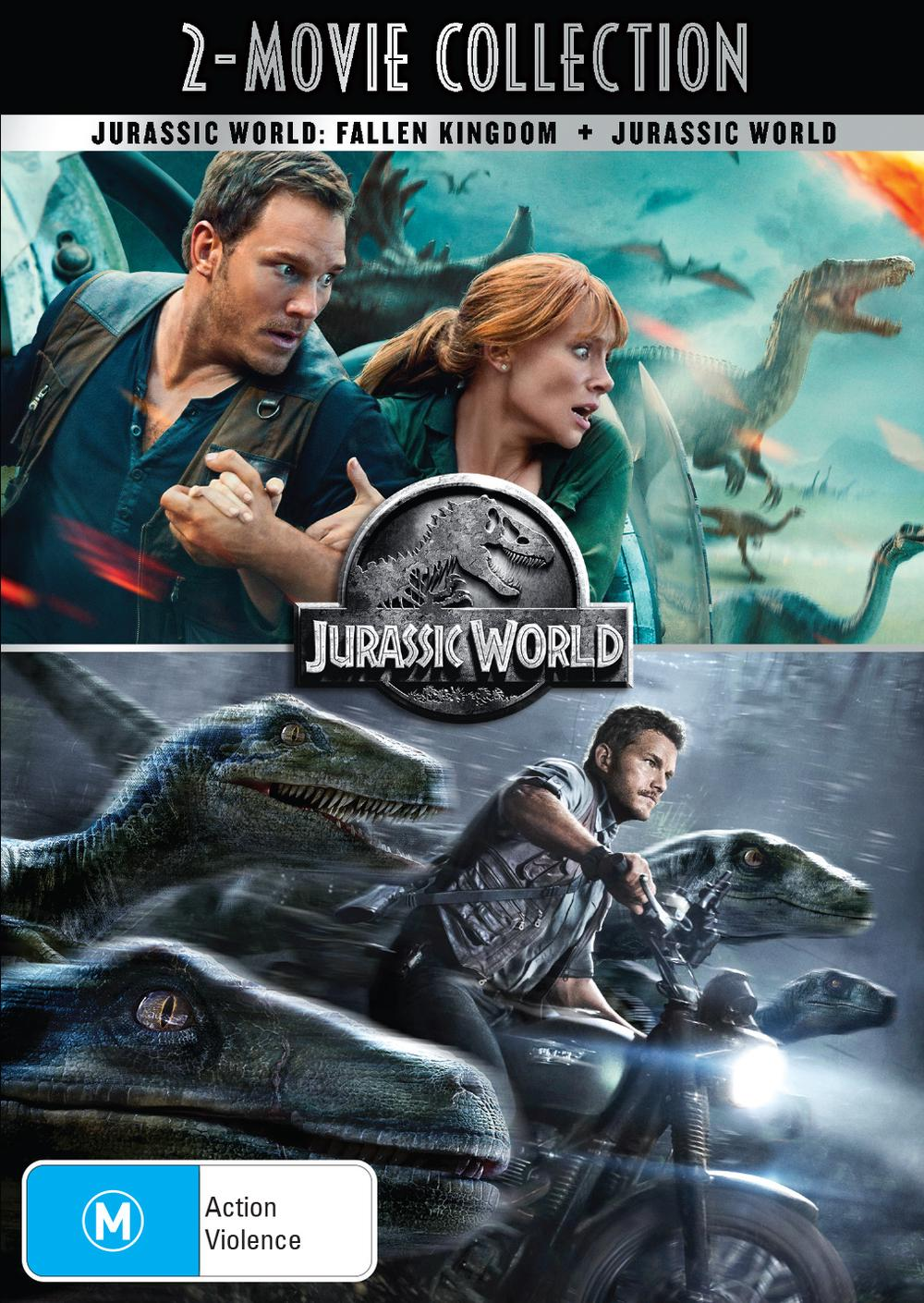Jurassic World / Jurassic World - Fallen Kingdom | Digital Copy: 2 Movie  Pack
