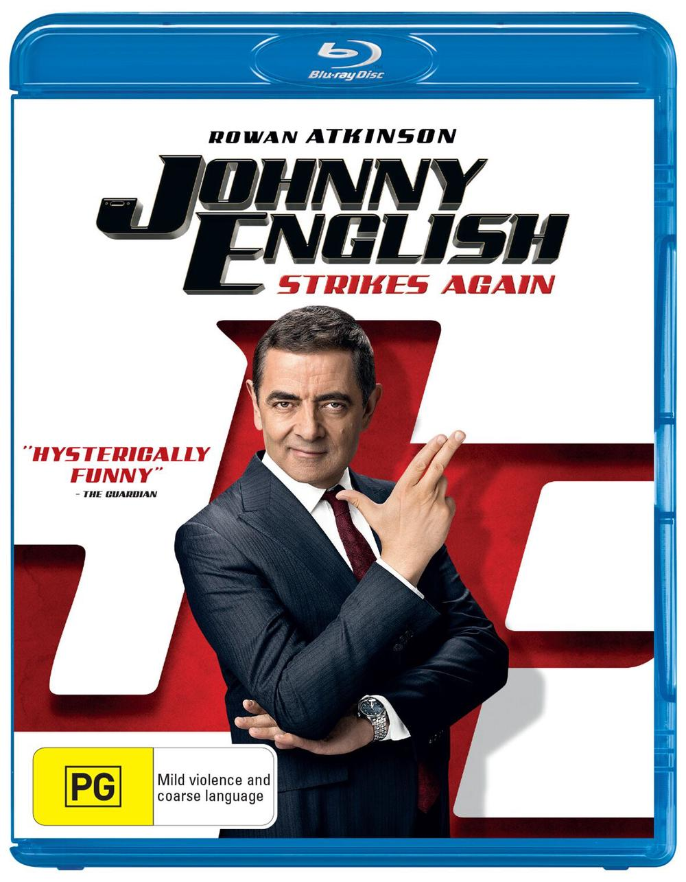 Johnny English Strikes Again - Blu-Ray & Digital