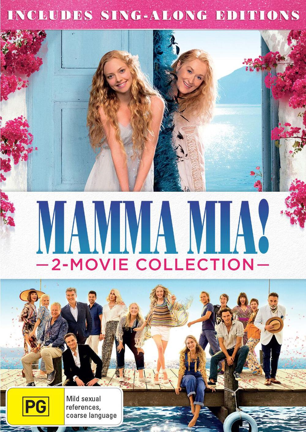 Mamma Mia & Mamma Mia: Here We Go Again- 2 Movie Collection