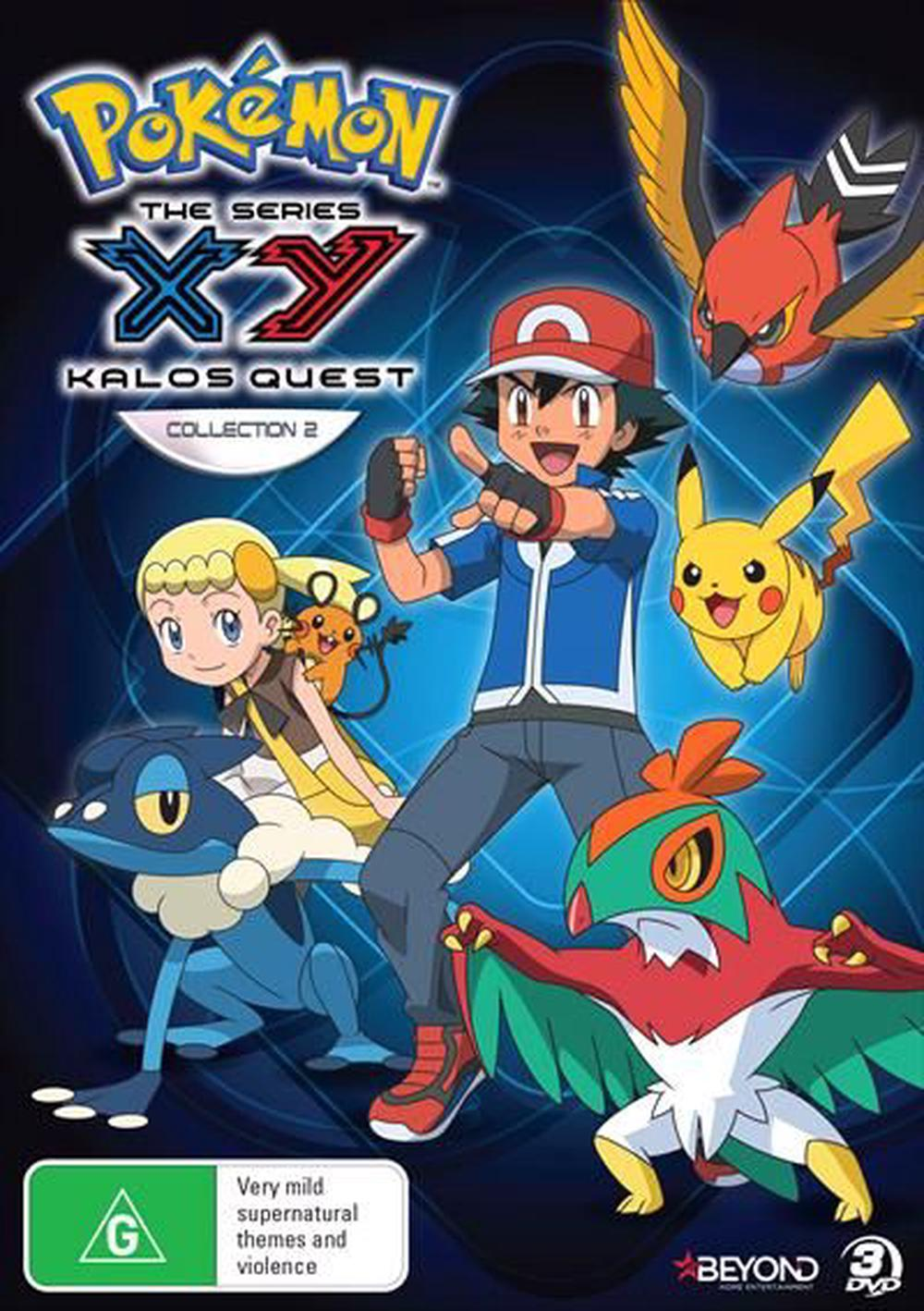 Pokemon - XY Kalos Quest: Collection 2