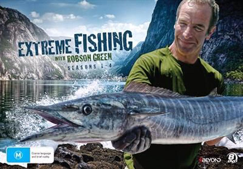 Extreme Fishing With Robson Green : Season 1-4 | Collector's