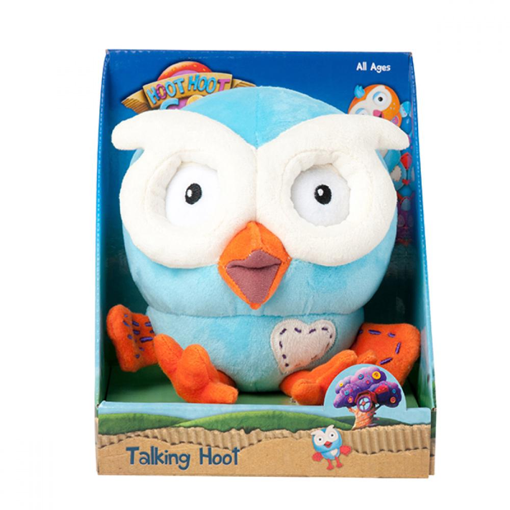 Giggle & Hoot Talking Hoot Interactive Plush