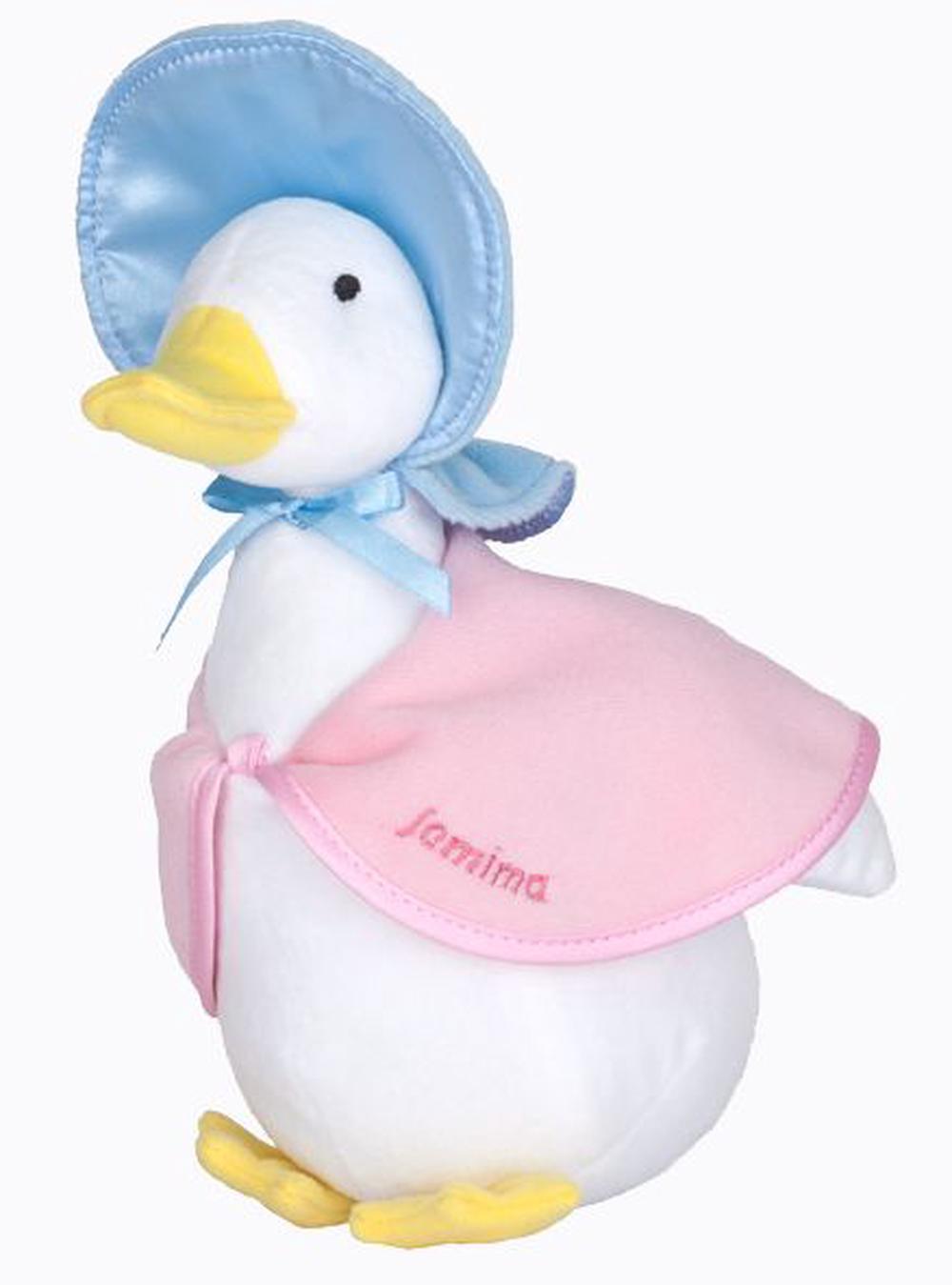 Beatrix Potter Silky Beanbag Jemima Puddle Duck