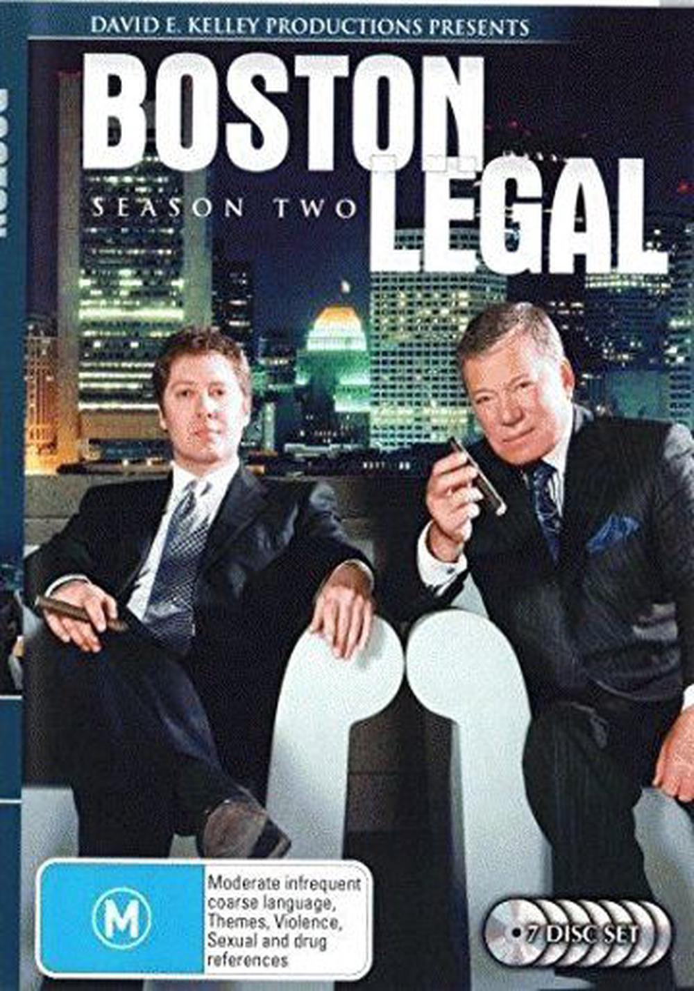 Boston Legal: the Complete Season 2