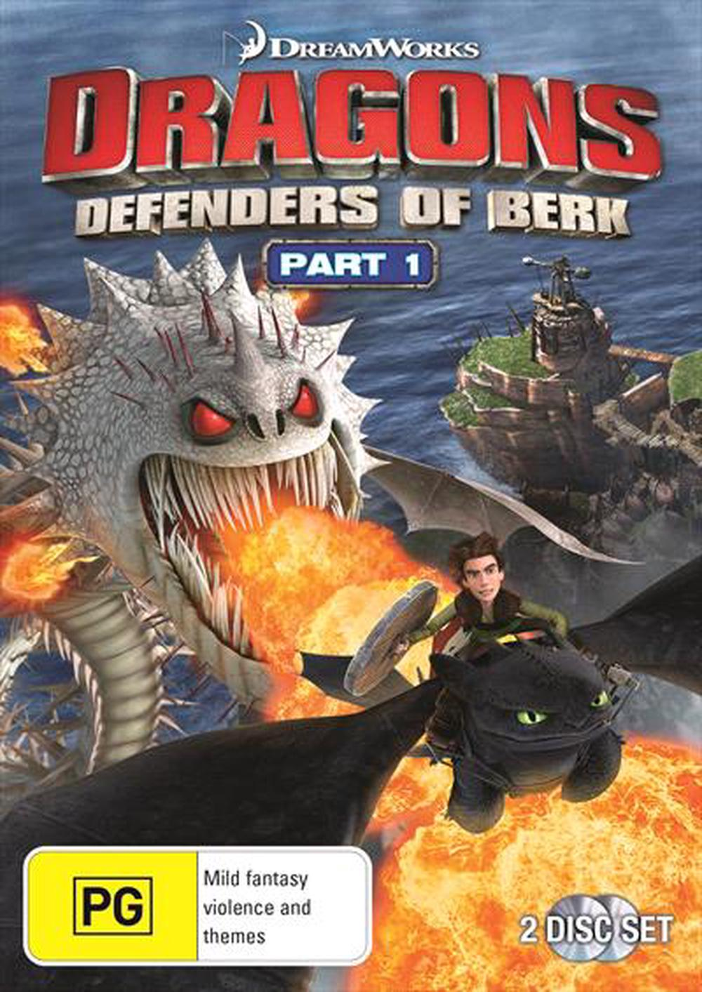 Dragons - Defenders Of Berk: Part 1