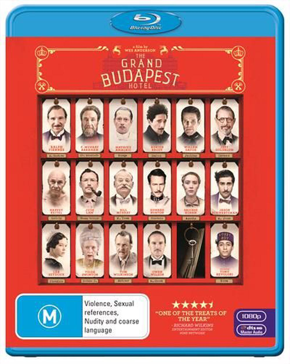 Grand Budapest Hotel The Blu Ray Buy Online At The Nile