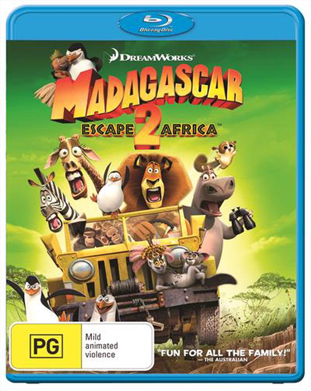 Madagascar Escape 2 Africa Blu Ray Buy Online At The Nile