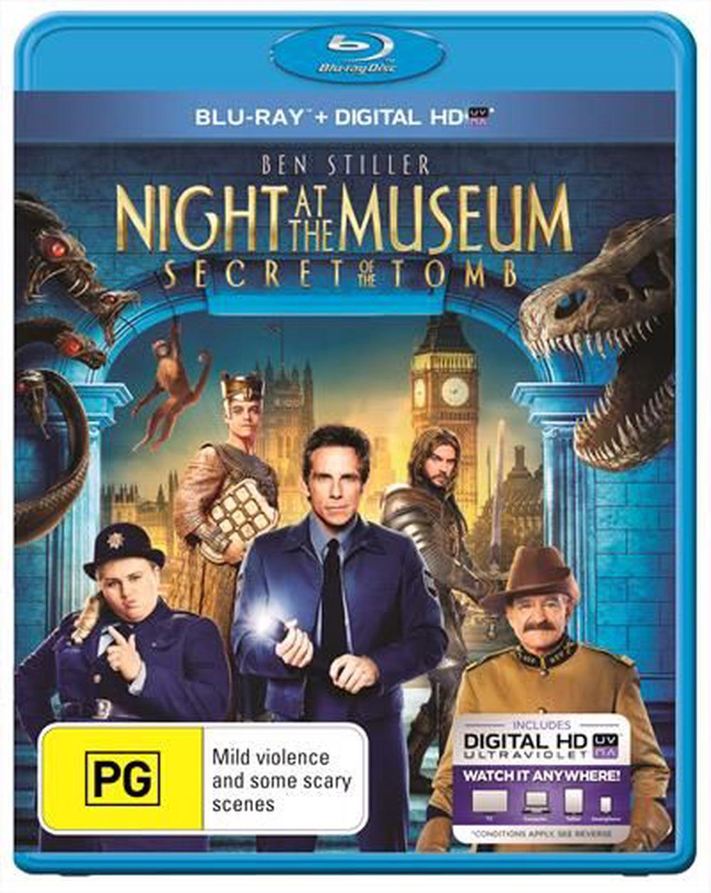 Night At The Museum 3 - Secret Of The Tomb | UV
