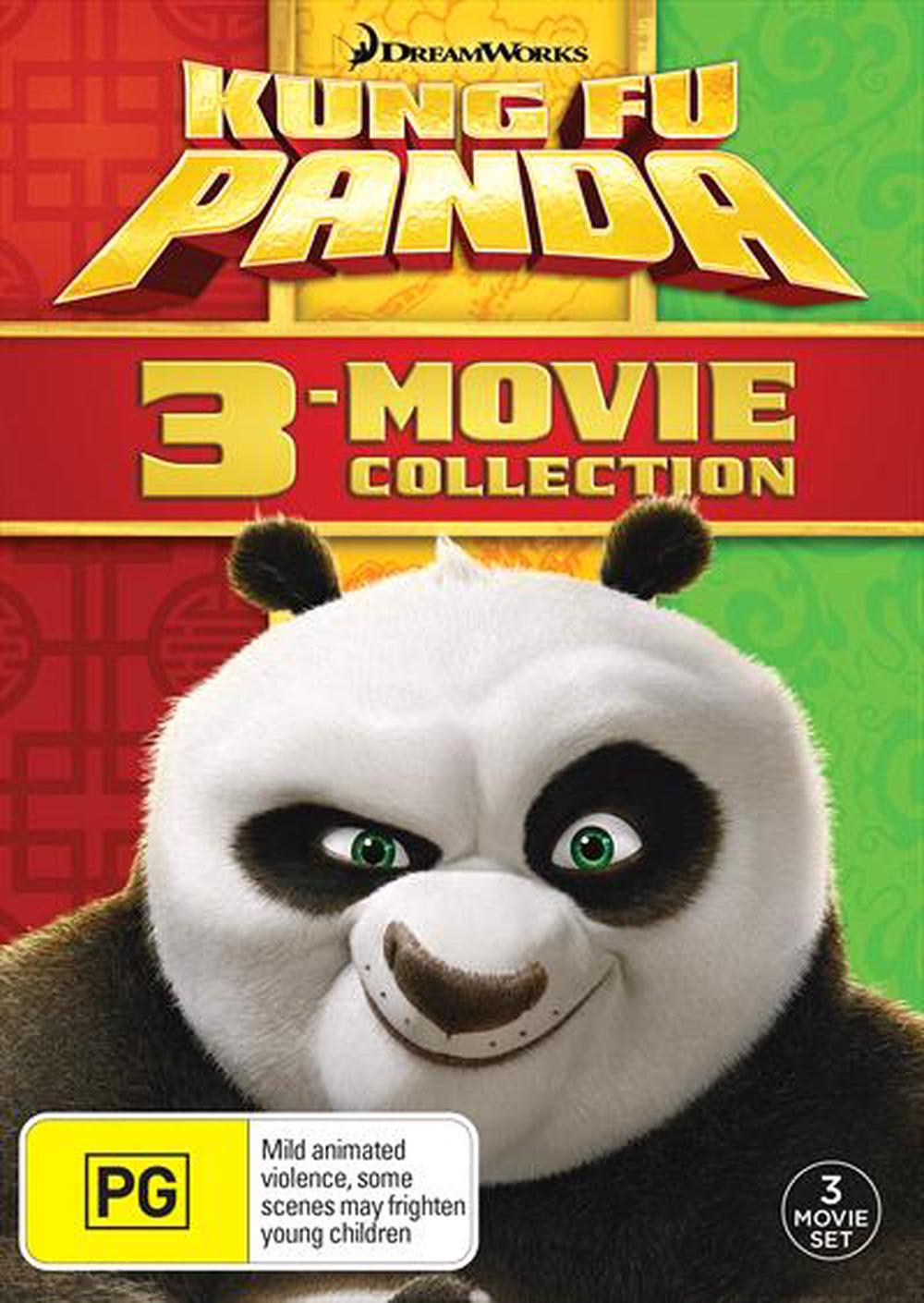 Kung Fu Panda / Kung Fu Panda 2 / Kung Fu Panda 3 | Triple Pack