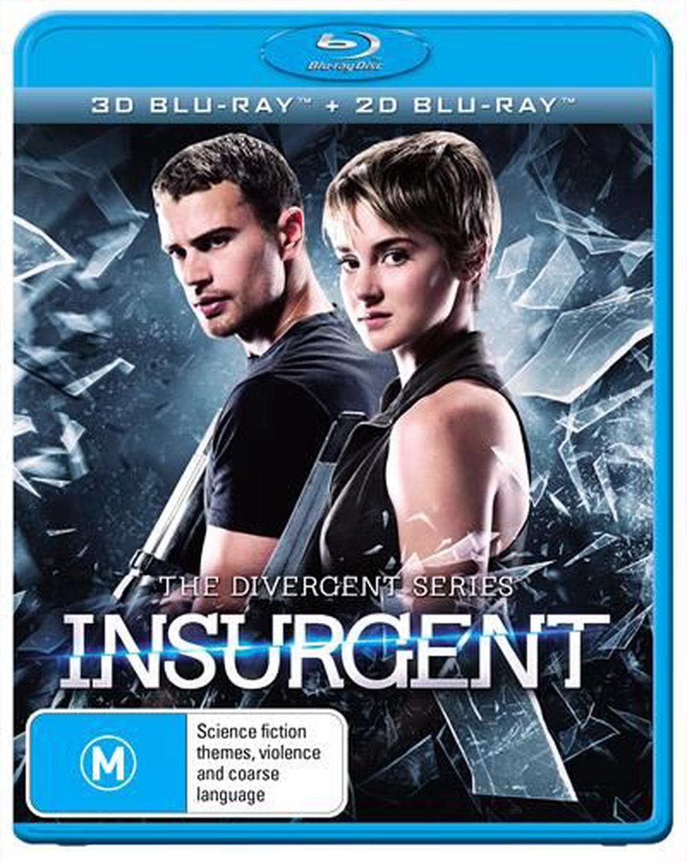 The Divergent Series - Insurgent | 3D + 2D Blu-ray
