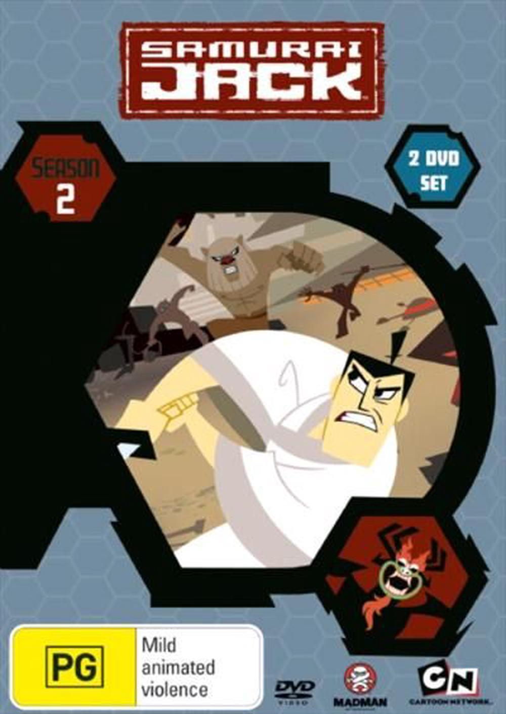 Samurai Jack: the Complete Season 2, DVD | Buy online at The Nile