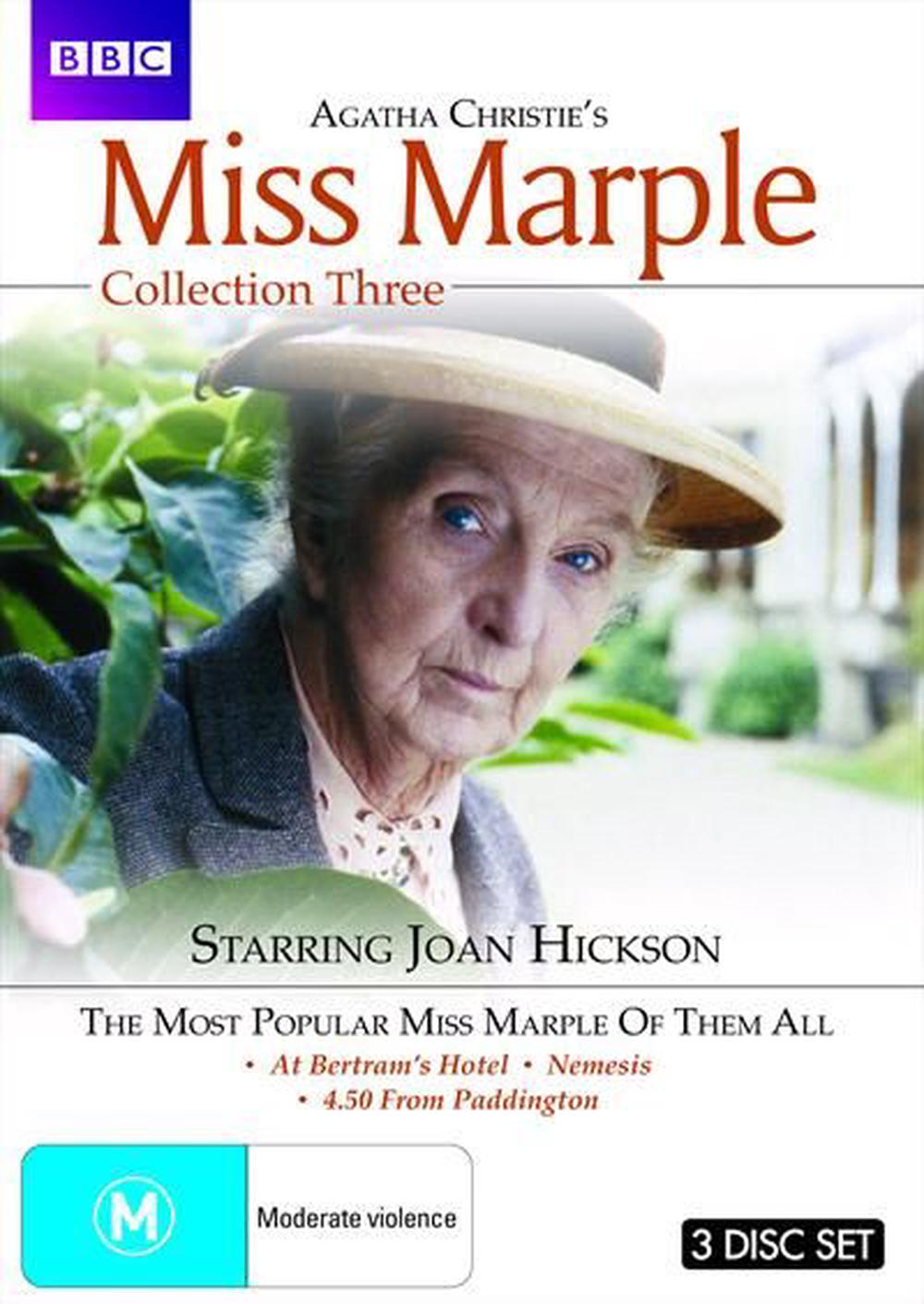 Agatha Christie: Miss Marple - Collection 3 (at Bertram's Hotel / Nemesis / 4.50 from Paddington)