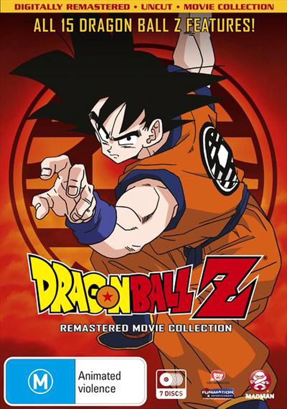 All dragon ball z movies in chronological order