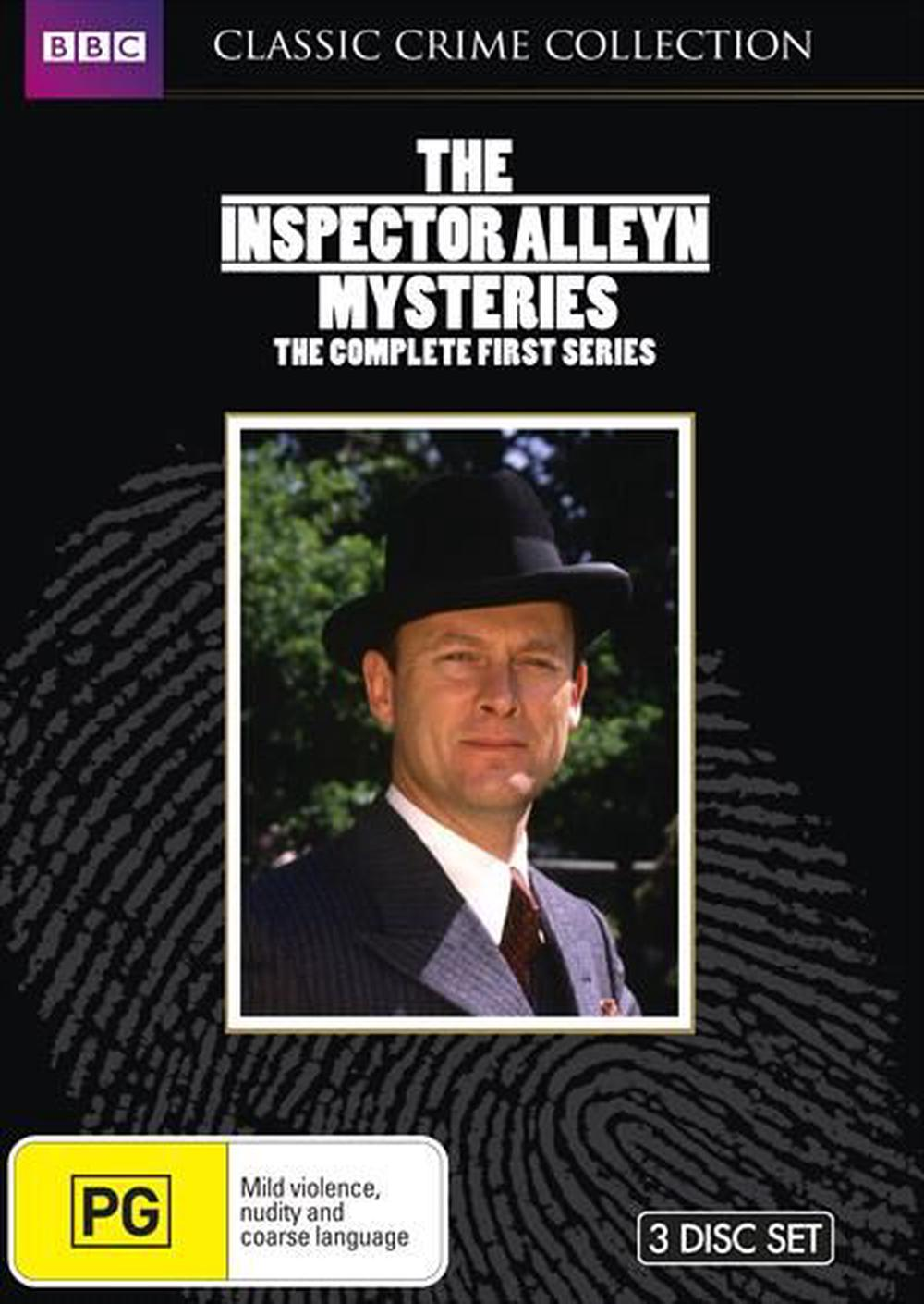 Inspector Alleyn Mysteries, The : Series 1 : Limited Edition | Classic Crime Collection