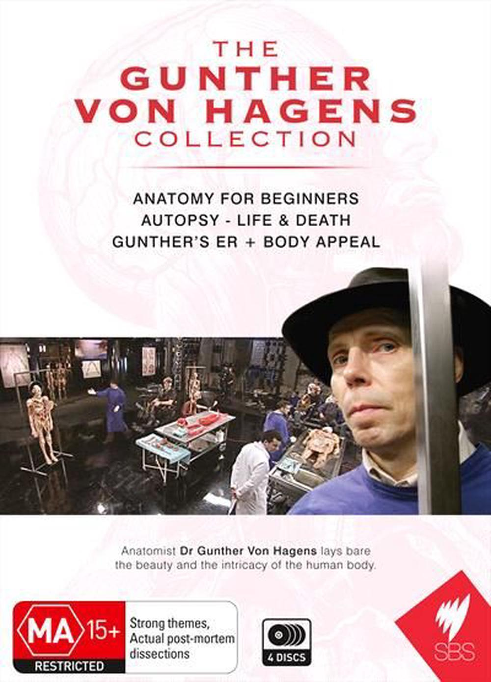 Gunther Von Hagens Collection, The, DVD | Buy online at The Nile