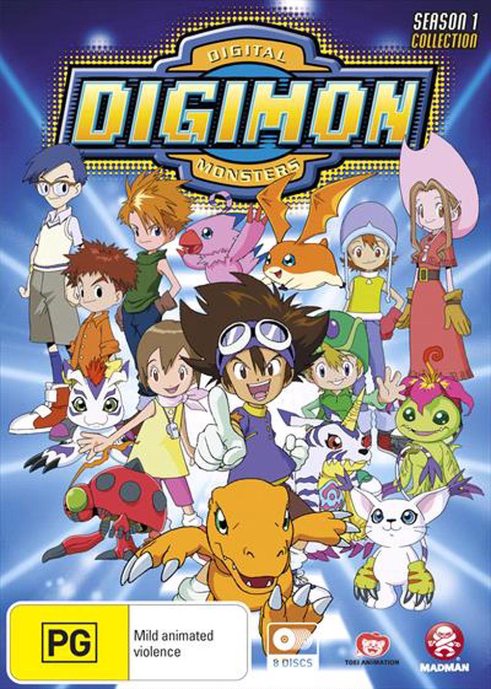 Digimon - Digital Monsters : Season 1