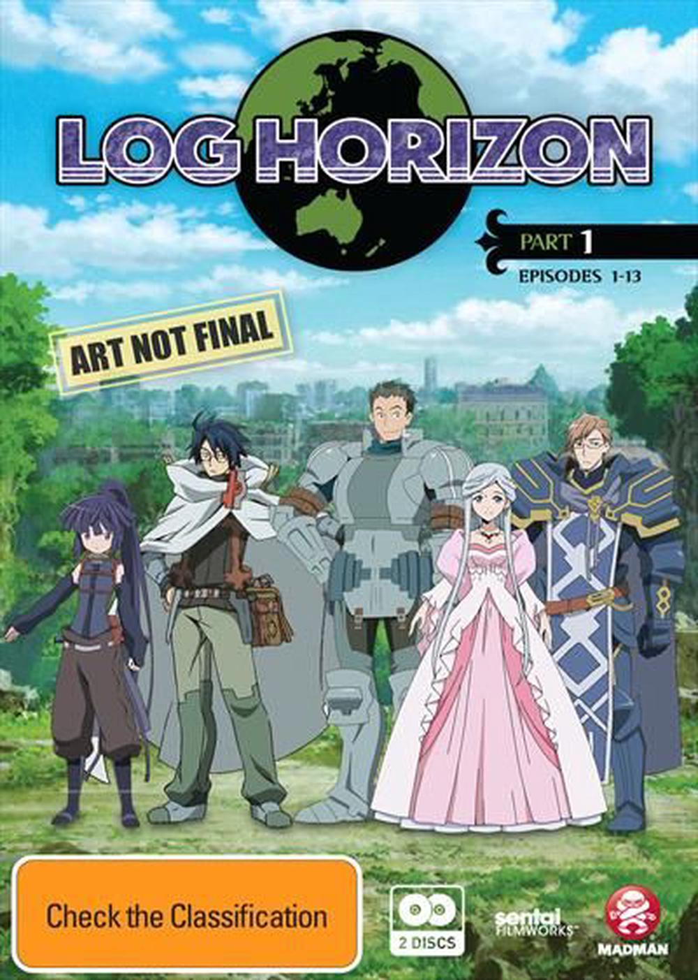 Log Horizon : Part 1 : Eps 1-13
